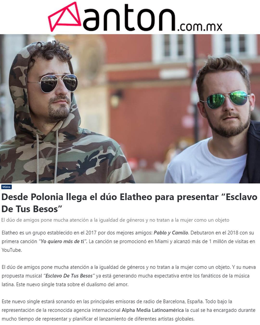 Anton noticias mexico
