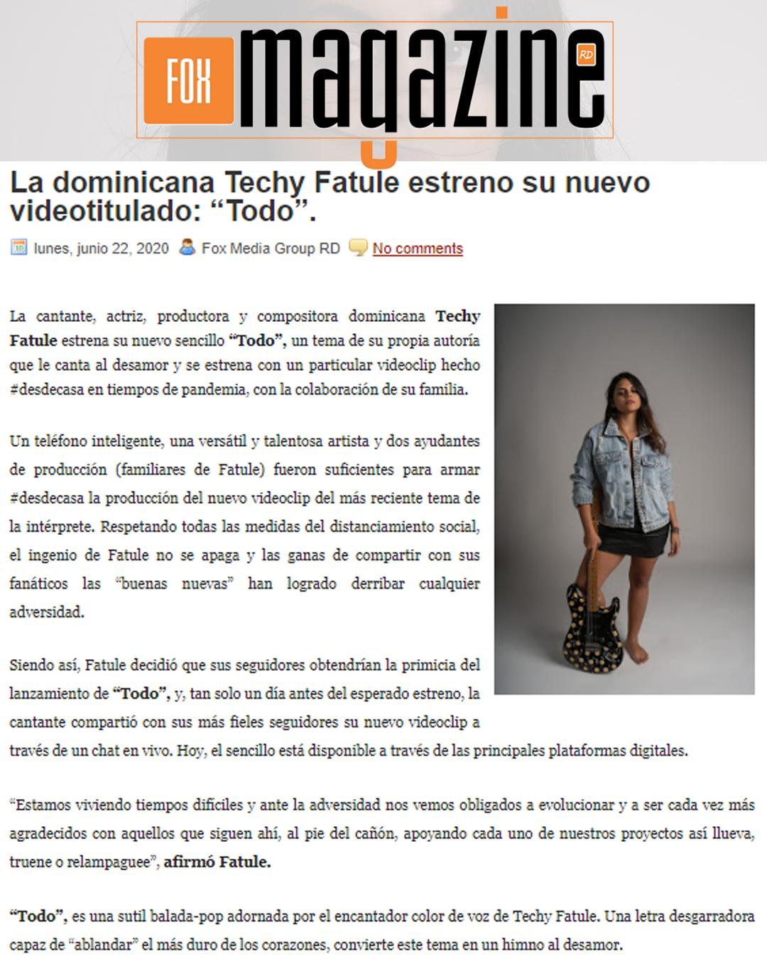 fox magazine rd