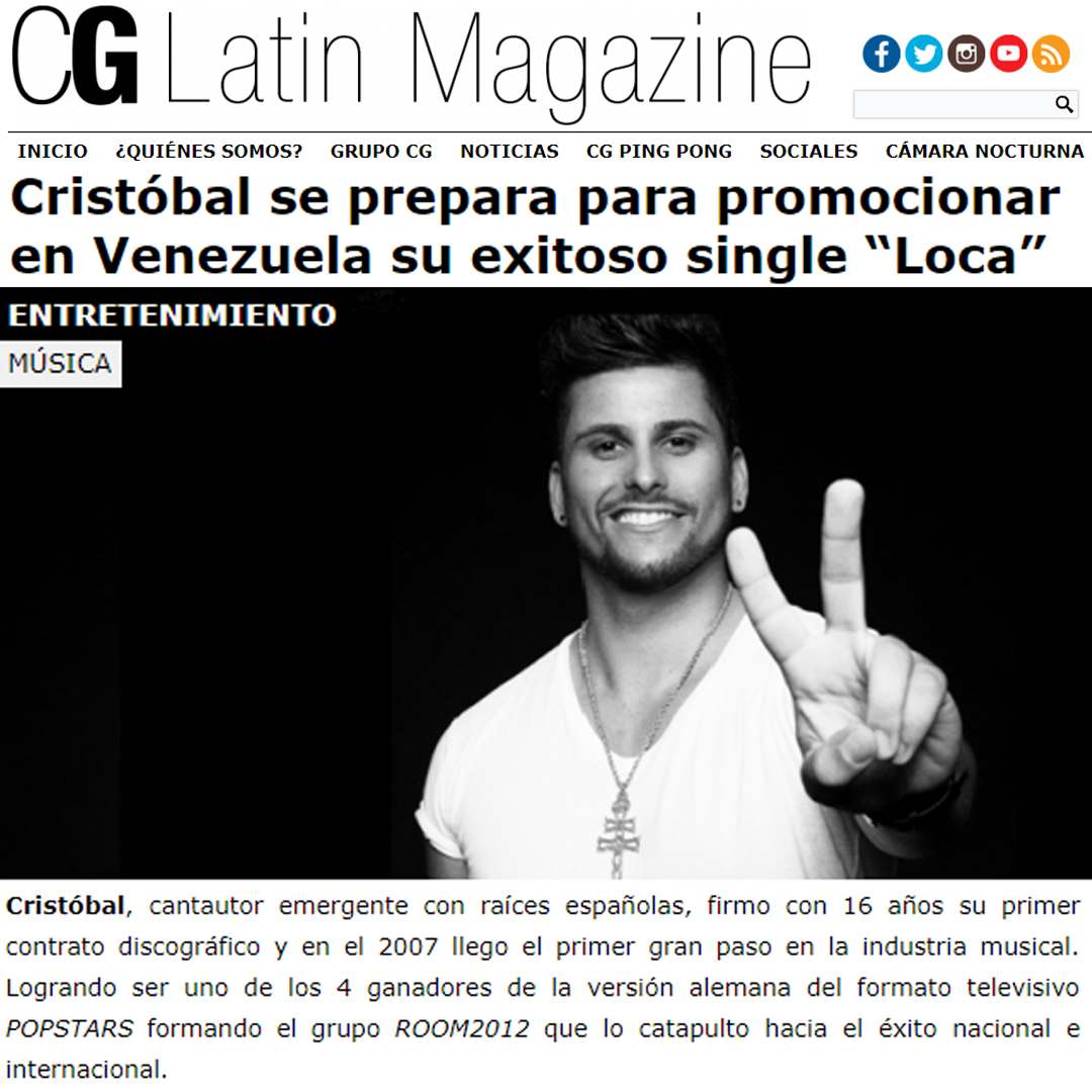 CG LATIN MAGAZINE