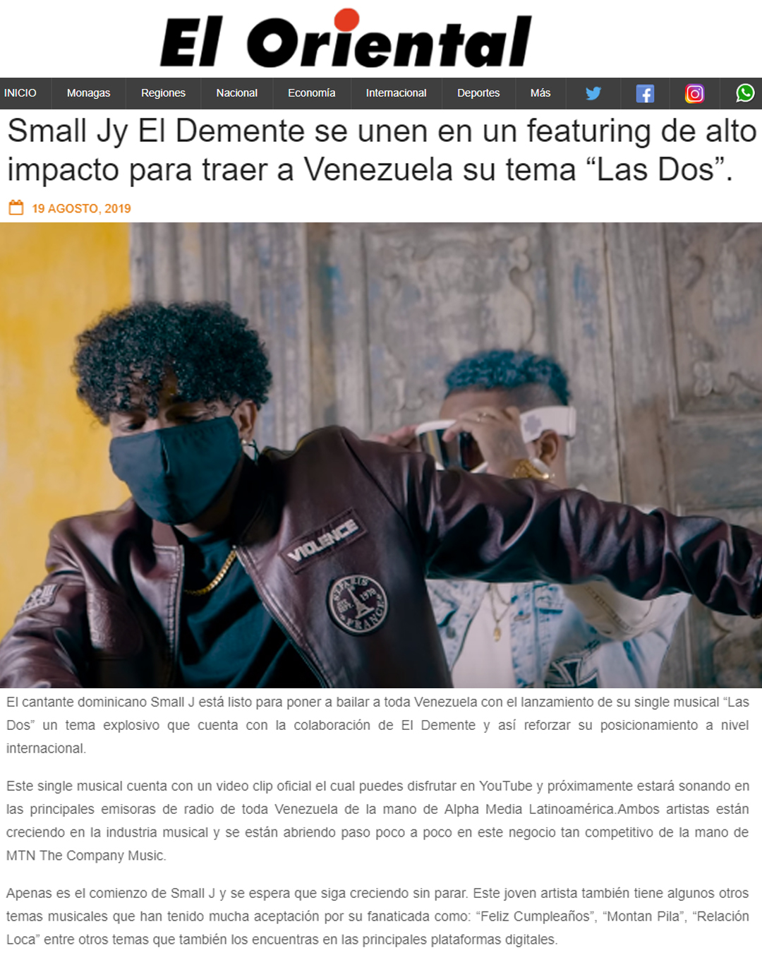 EL ORIENTAL
