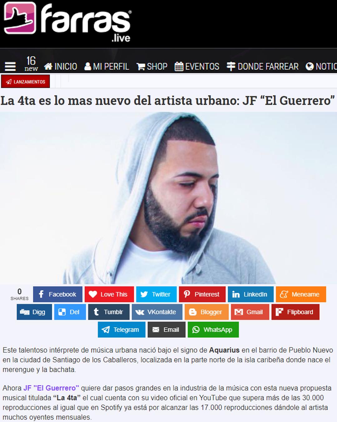 FARRAS ECUADOR