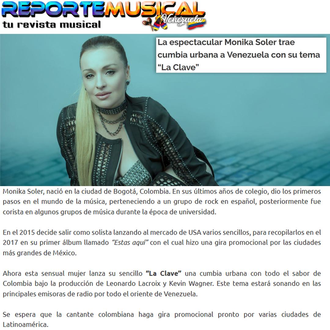 NOTA REPORTE MUSICAL