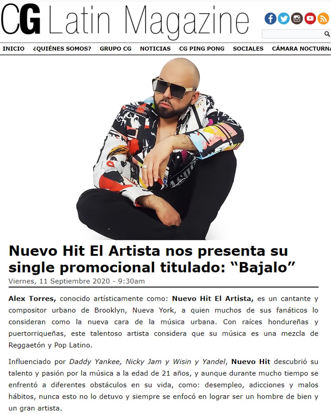 cg latin magazine