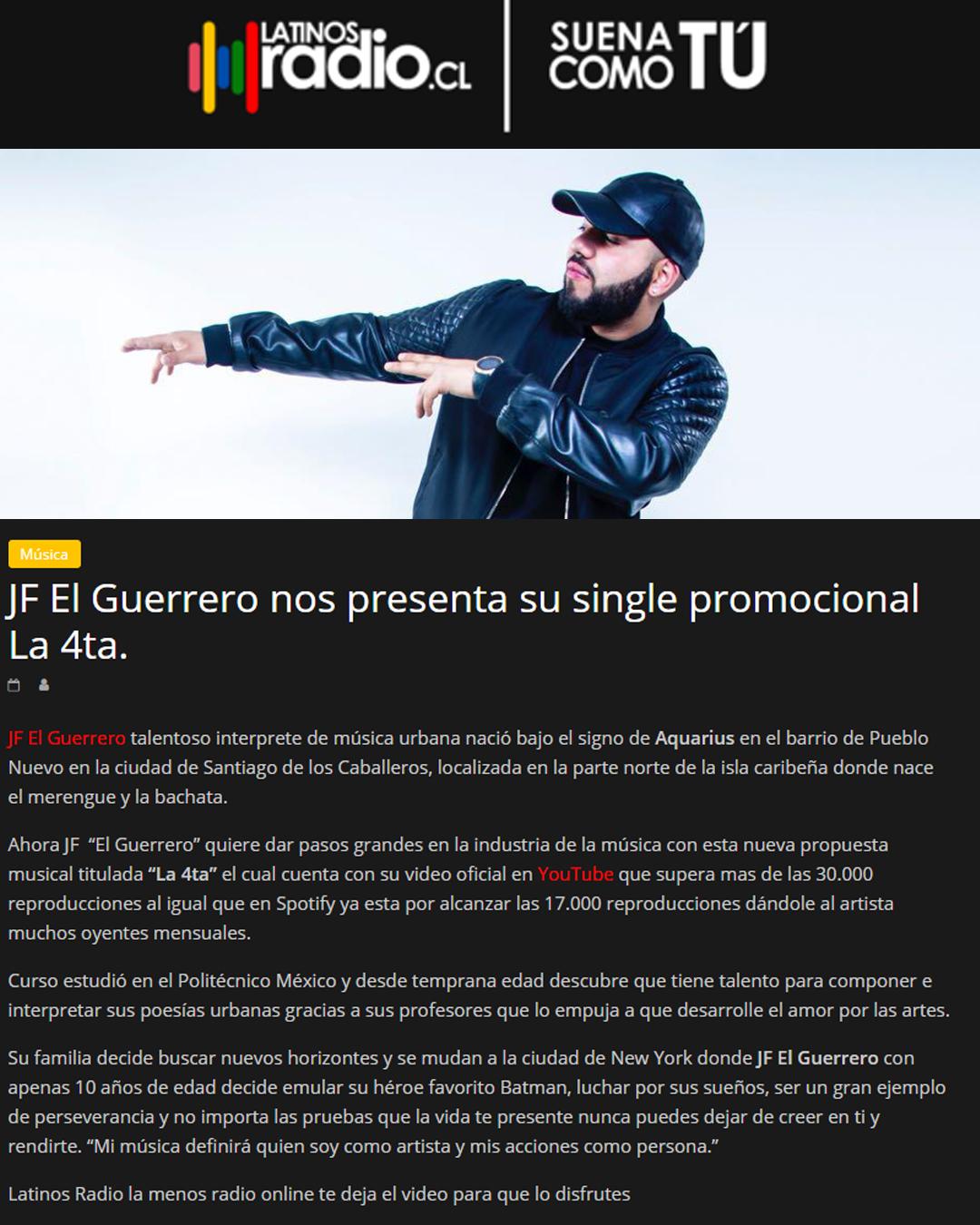 latinos radios cl